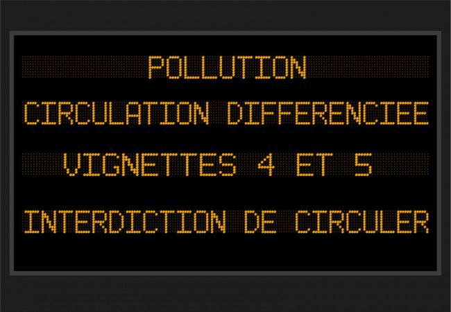 restriction de circulation à Paris : les véhicules concernés