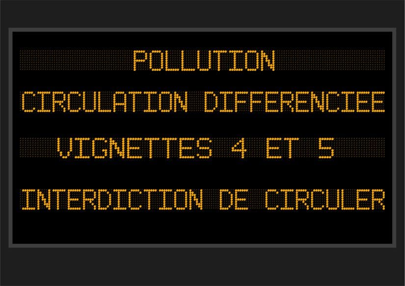 restriction de circulation